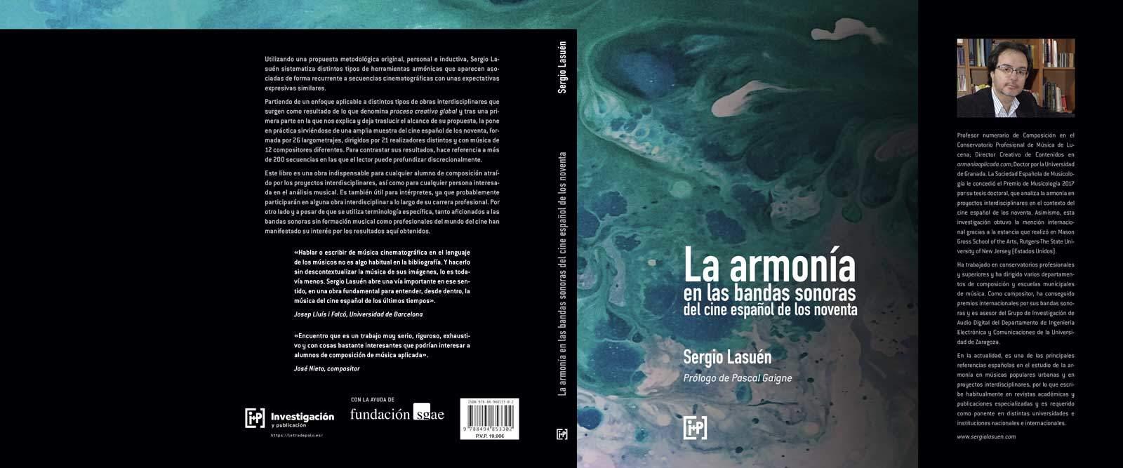 La armonía en las bandas sonoras del cine español de los noventa - cubierta
