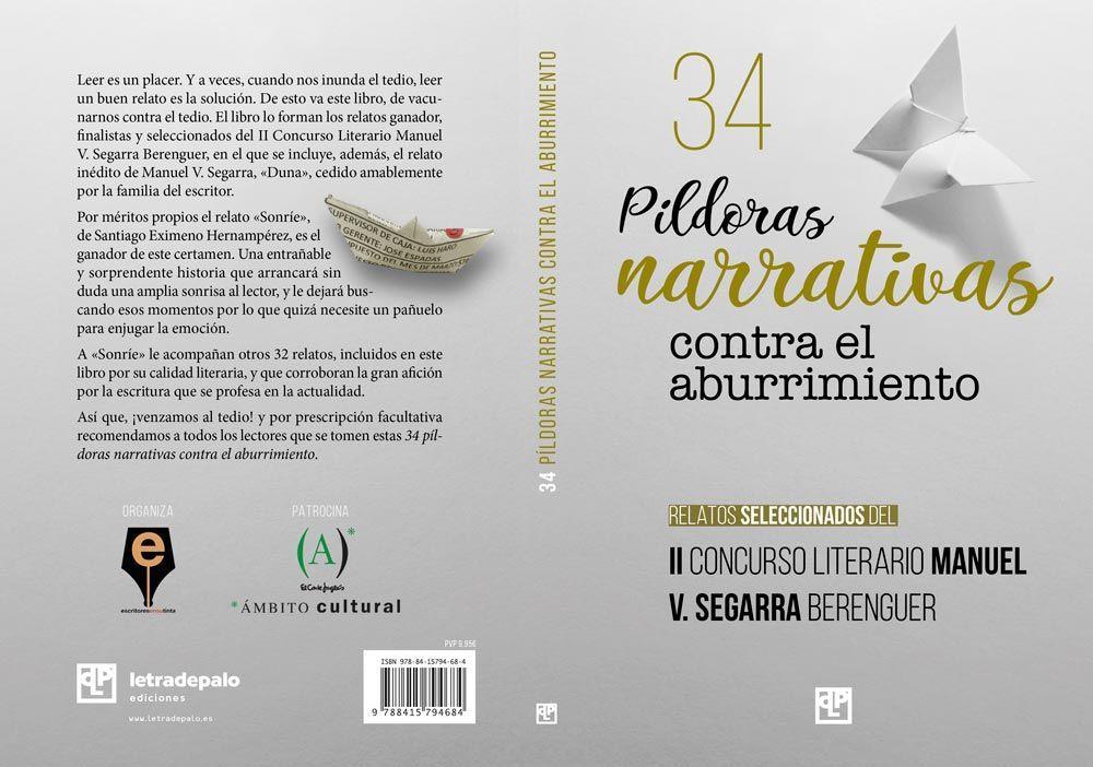 34 píldoras narrativas contra el aburrimiento cubierta