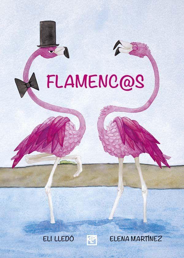 Flamencos, libro infantil ilustrado