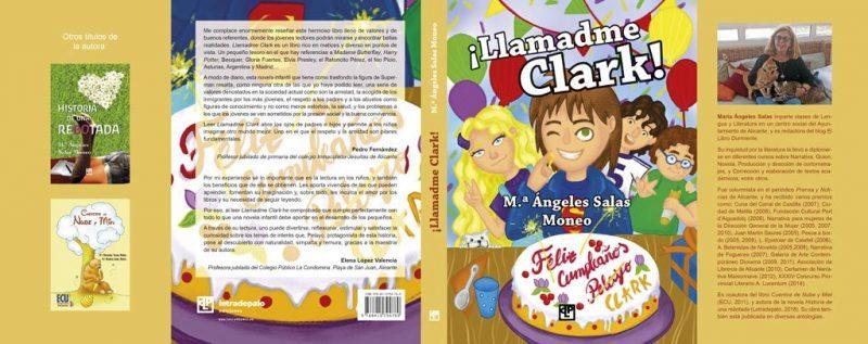 Llamadme Clark novela infantil