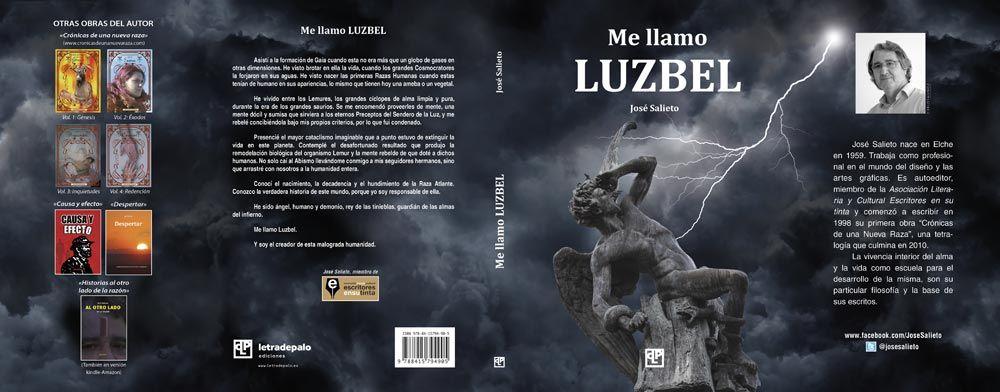 Me llamo Luzbel cubierta
